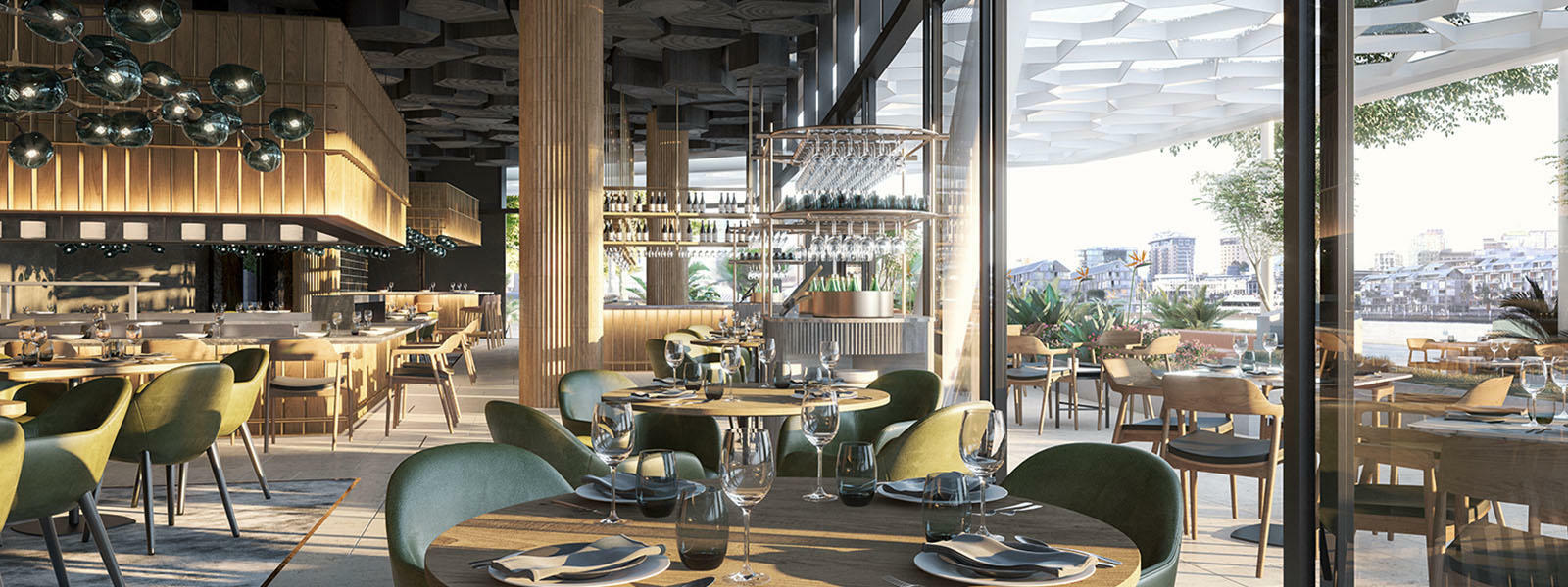 Ross And Sunny Lusted Return To Sydney's Dining Scene With Woodcut At Crown Sydney