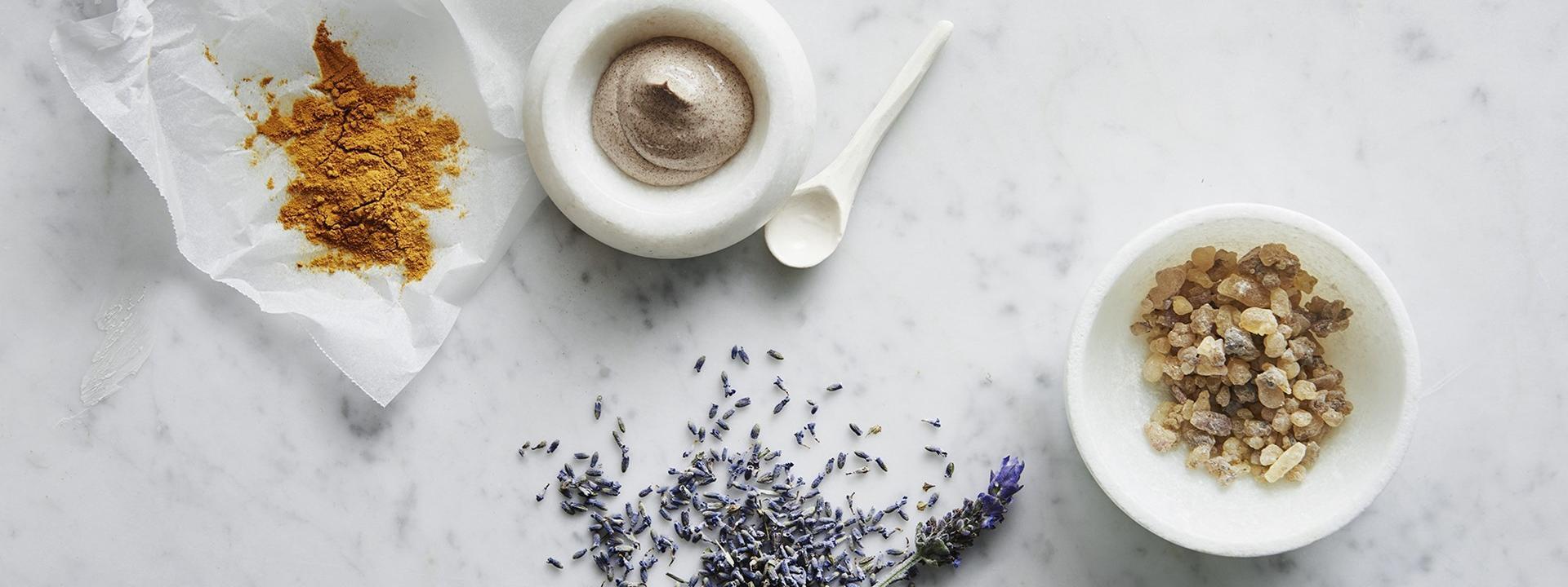Medicines using in crown spa at Crown Hotels