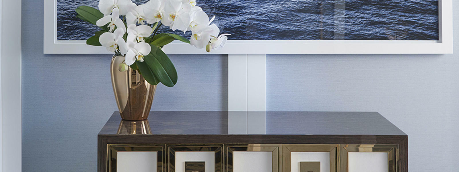 An image of sea hanging on the wall at Crown Hotel Perth