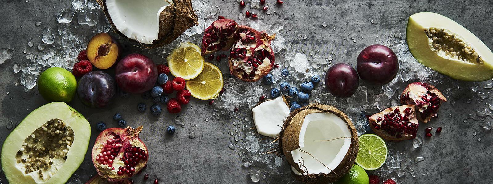 Organic food in crown spa at Crown Hotels