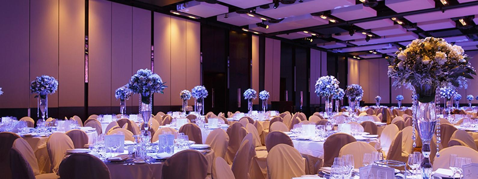 Promenade Room meeting hall at Crown Hotel Melourne