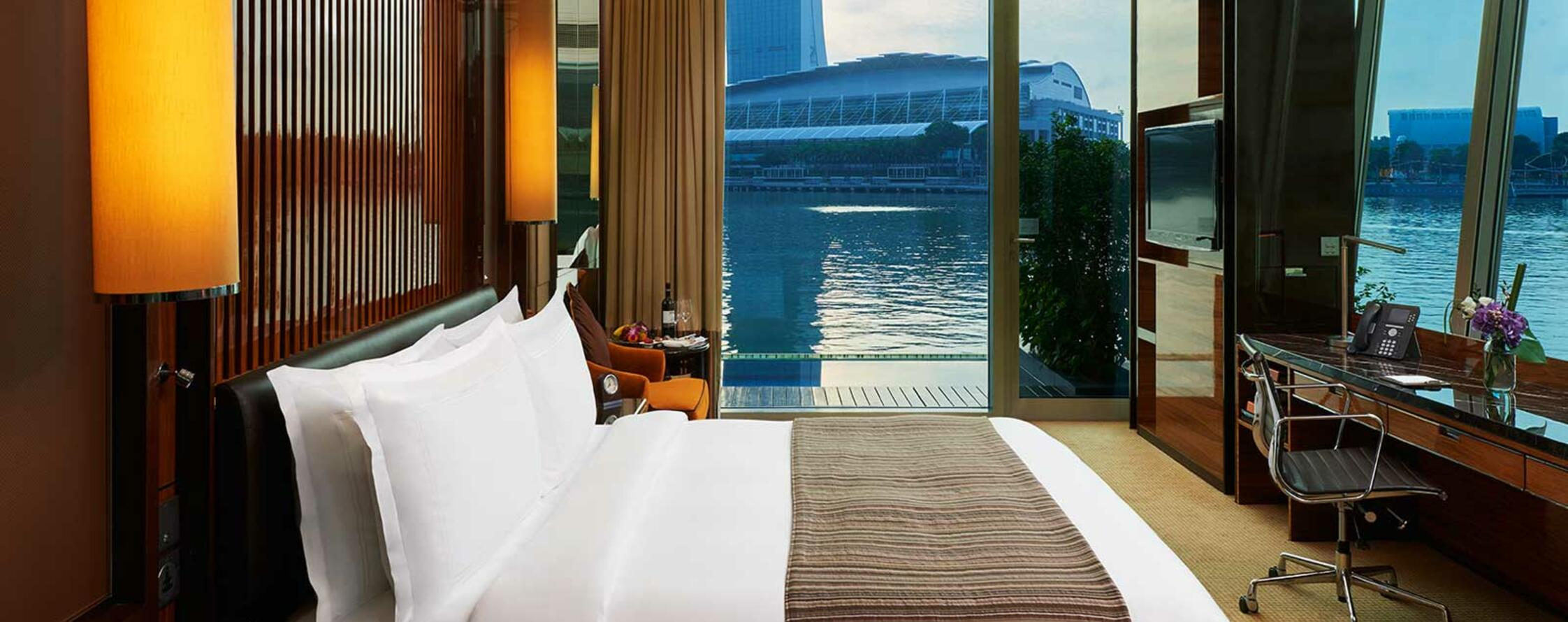 The Premier Bay View with Jacuzzi Room with one king bed
