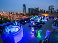 Terrace at Two Seasons Hotel & Apartments in Dubai