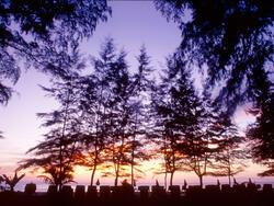 Sunset VIew from Amora Beach Resort Phuket