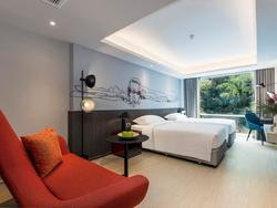 A view of a room at Maitria Hotel Rama 9 Bangkok