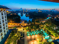 Exterior View of Chatrium Hotel Royal Lake Yangon