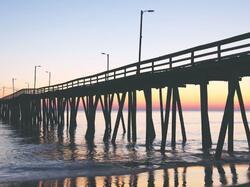 Virginia Beach Boardwalk at Virginia Beach