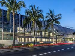 exterior of the miami beach convention center