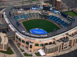 Aerial View of US Cellular Field