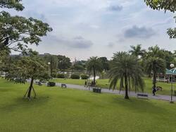 Chatuchak Park near Chatrium Hotel Riverside Bangkok