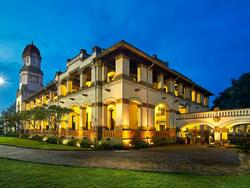Lawang Sewu in the evening