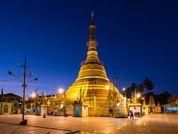 Inside view of Shwedagon Pagoda near Chatrium Hotel Royal Lake Yangon