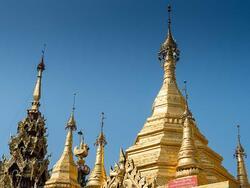 Exterior view of Sule Pagoda near Chatrium Hotel Royal Lake Yangon