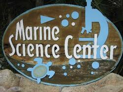 marine science center logo
