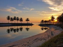 Bagan Pinang Beach at Port Dickson