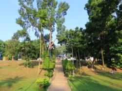 Beautiful scenery at Seremban Lake Gardens