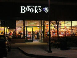 front entrance to a book store