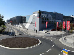 Nuerburgring race track near hotel Am Martinsberg