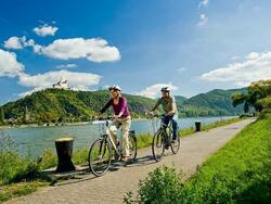 RheinRadWeg cycling trailv