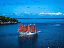 sail boat in ocean