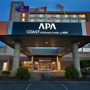 Exterior of Coast Chilliwack Hotel by APA