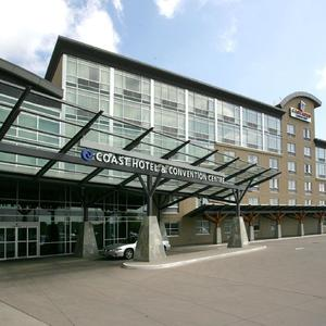 Exterior of Coast Langley City Hotel and Convention Centre