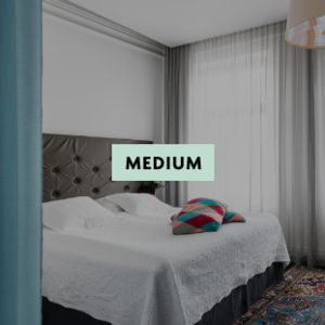 Medium Room at Hotel Flora in Gothenburg, Sweden
