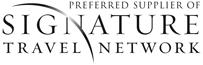 Signature logo at Grand Hotel Minerva