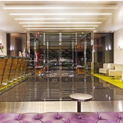Warwick Stone 55  Lobby Reception