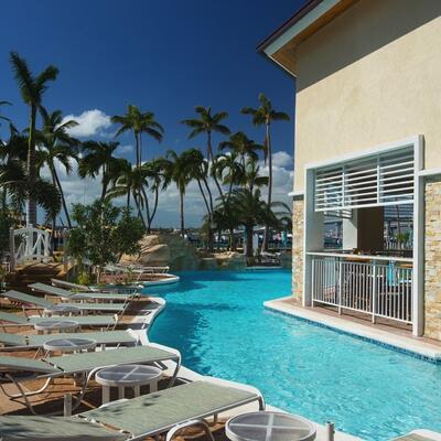 Warwick Paradise Island Bahamas Pool area