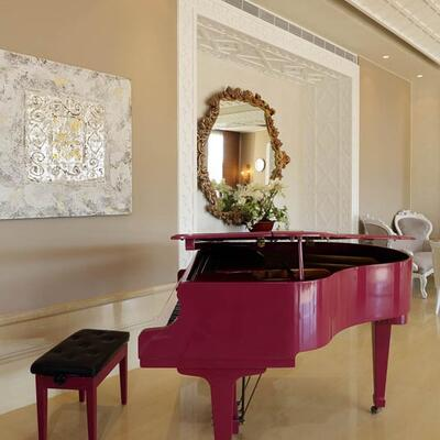 Entrance Piano at Warwick Palm Beach