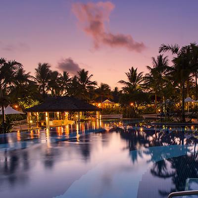 Pool at Warwick Le Lagon - Vanuatu