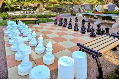 Bell Rock Inn Giant Chess