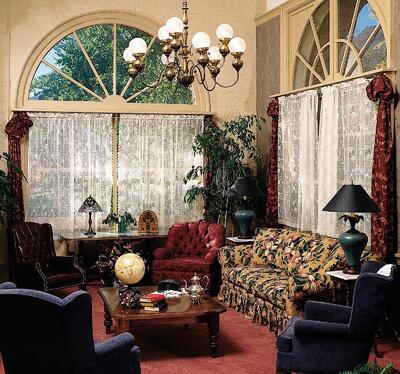 Living room in Devereux Suite