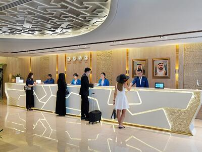 Guests Lobby Two Seasons Hotel