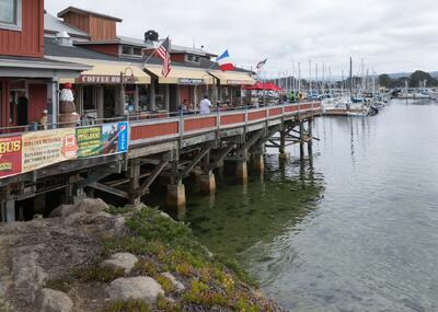Fisherman's Wharf near The Monterey Hotel