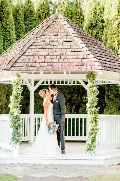 wedding venue at village green resort
