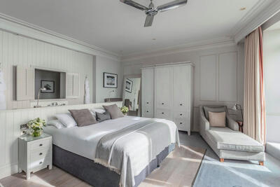 Feature Deluxe Seaview Room at The Grand Brighton in East Sussex