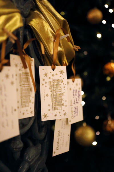 Christmas at The Grand Brighton in East Sussex, United Kingdom