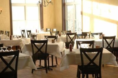 Il Pinnacolo dining room