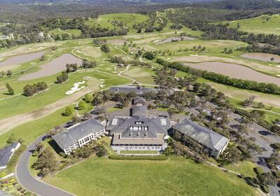 Aerial View of Yarra Valley Lodge & Golf Course