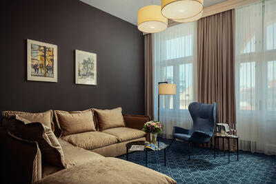Executive Suite at Hotel KINGS COURT in Prague