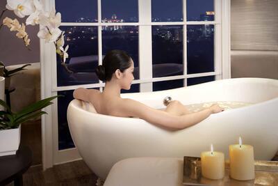 Spa at Hotel Gran Mahakam in Jakarta, Indonesia