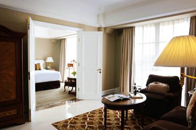Deluxe Suite at Hotel Gran Mahakam in Jakarta, Indonesia