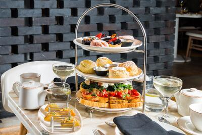 El Dolce Semplice Afternoon Tea at Monmouth Kitchen