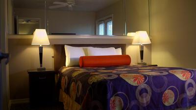 Two bedroom resort suite.