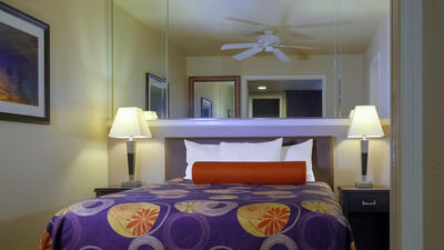 Resort suite.