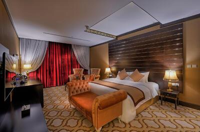 Senator Suite at Ghaya Grand Hotel Dubai