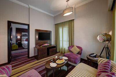 Executive Suite at Ghaya Grand Hotel Dubai