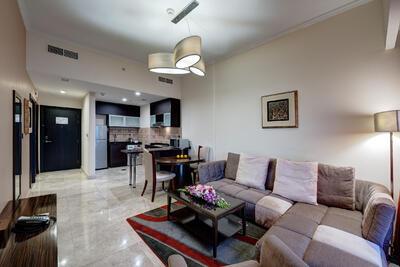 One Bedroom Apartment at Ghaya Grand Hotel Dubai
